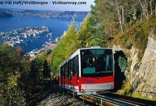 Hurtigruten: Innovation Norge Bergen Floibahn