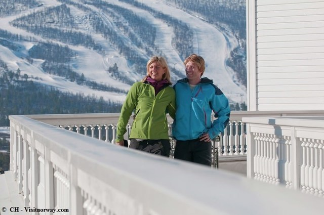Winter: Innovation Norway Geilo ()
