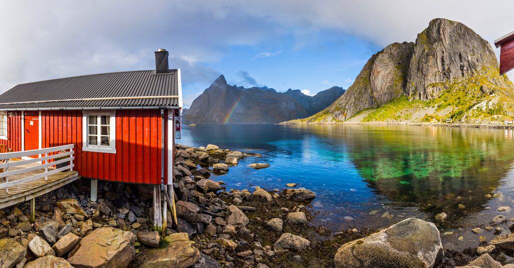 Aktivreisen: hamnoy lofoten norwegen alex conu visitnorway com
