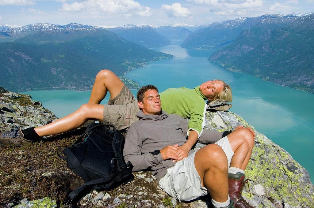 Aktivreisen: jotunheimen terje rakke fjordnorway com