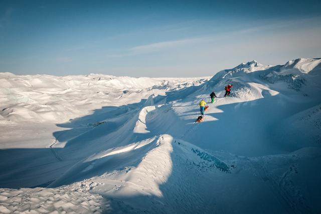 Expeditionen: kangerlussuaq humbert entrss visit greenland