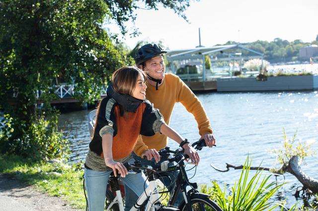 Aktivreisen: rad fahren stockholm anna hallmas imagebank sweden se
