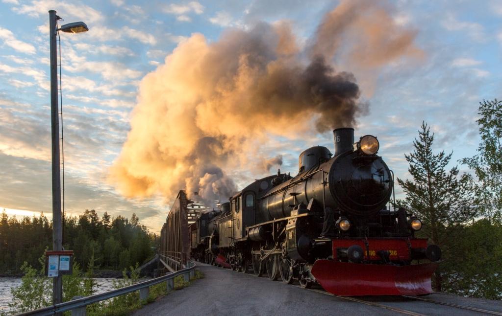 Bahn: inlandsbanan david larsson