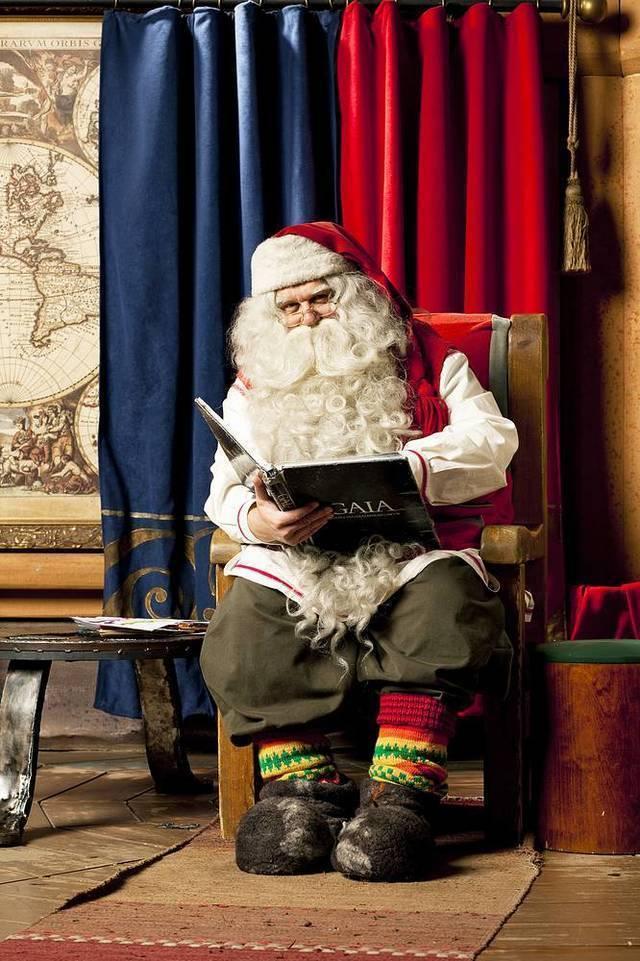 Bahn: weihnachtsmann rovaniemi riku pihlanto visitfinalnd