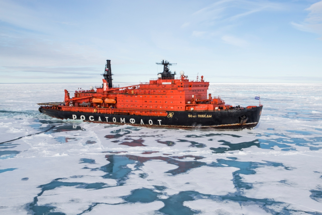 Expeditionen: klein ice breaker cpolaris tours