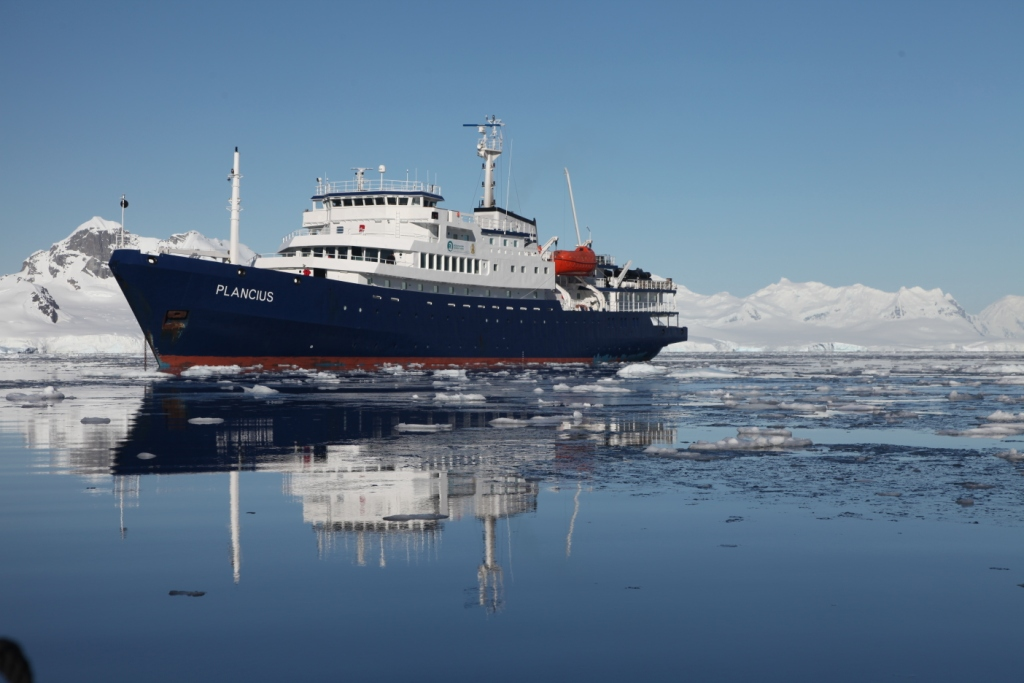 Expeditionen: klein plancius in antarctica polaris tours