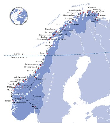 Hurtigruten - Havila: havila route troll tours
