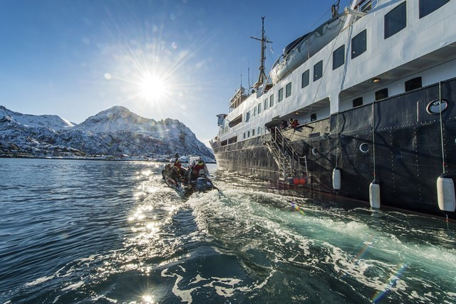 Expeditionen: ms norssternen orjan bertelsen