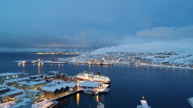 Nordlichter: salen hammerfest paul clark photo competition hurtigruten