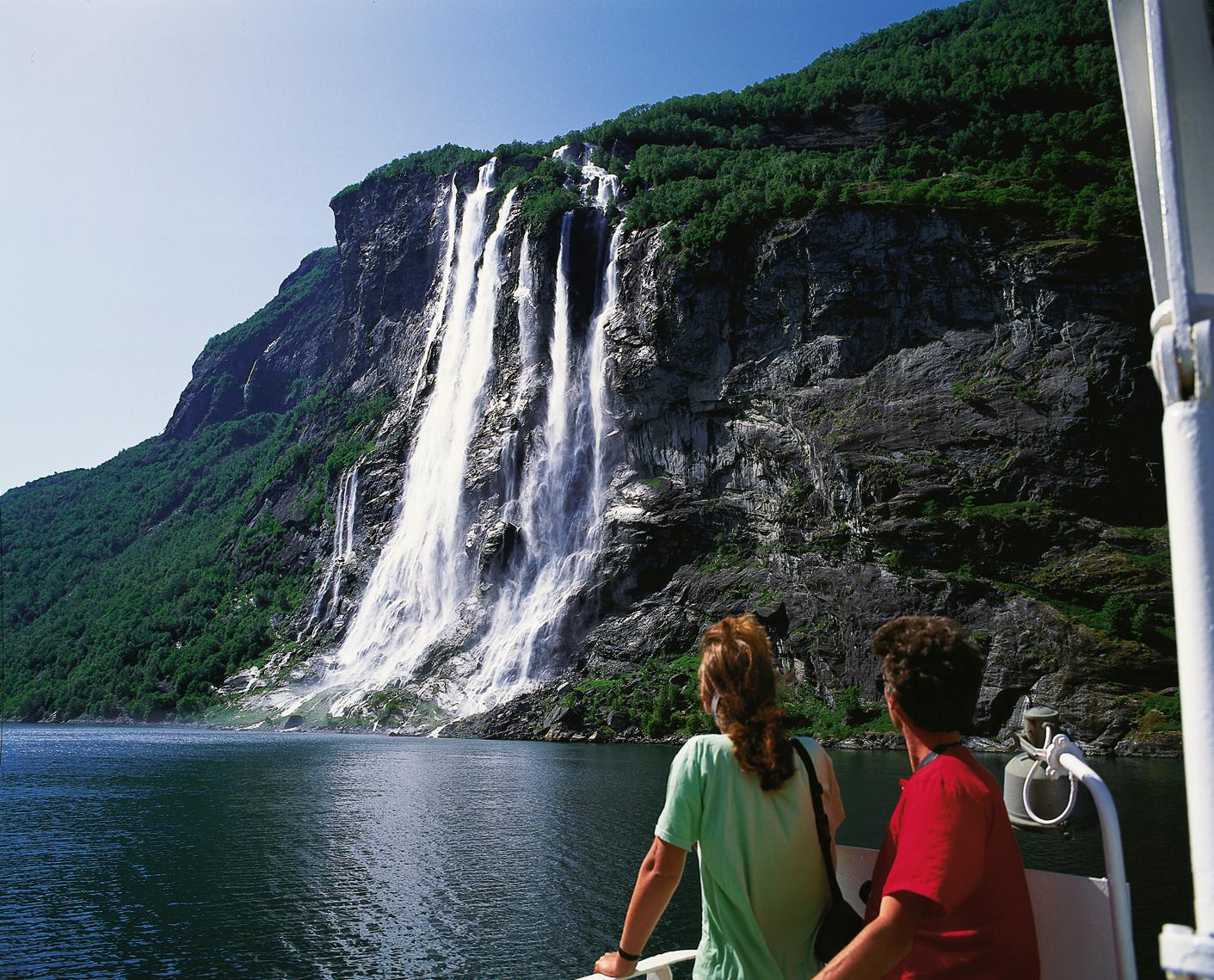 Kreuzfahrten: geirangerfjord frithjof fure fjord norway