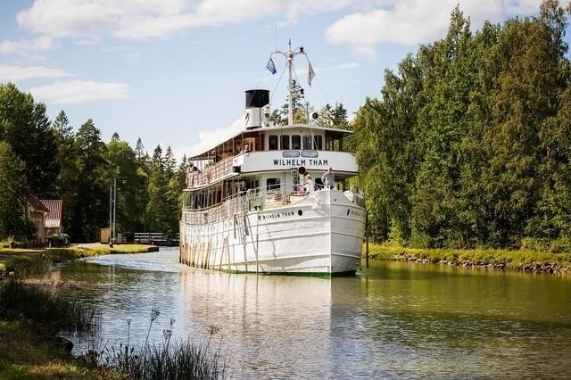 Kreuzfahrten: ms wilhelm tham rederi ab goeta kanal