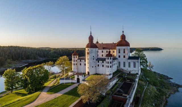 Göta Kanal: schloss laeckoe pixel petersson sweden