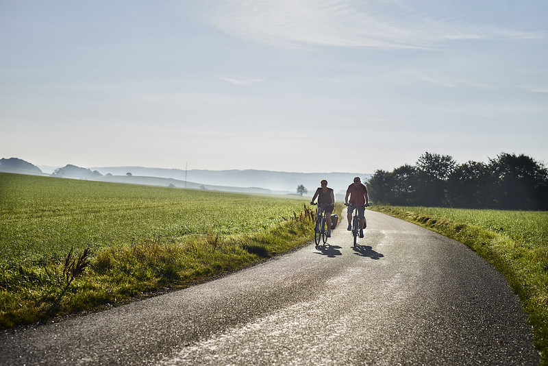 Rundreisen: fahrrad fahren ost jutland landschaft rubysreisen
