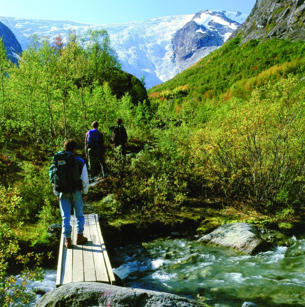 Rundreisen: jostedalsbreen finn loftesnes fjordnorway com