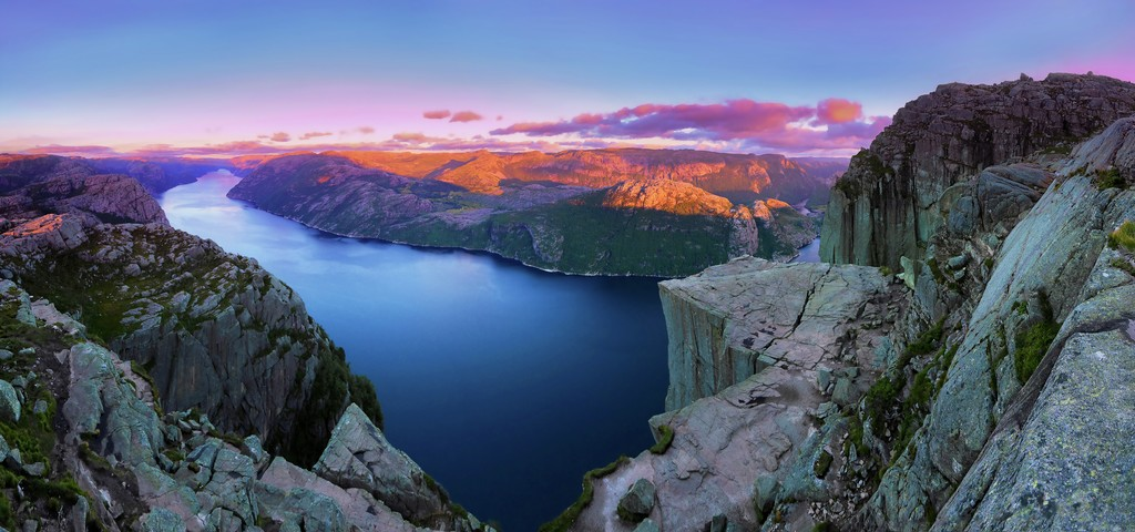 Rundreisen: preikestolen paul edmundson fjordnorway
