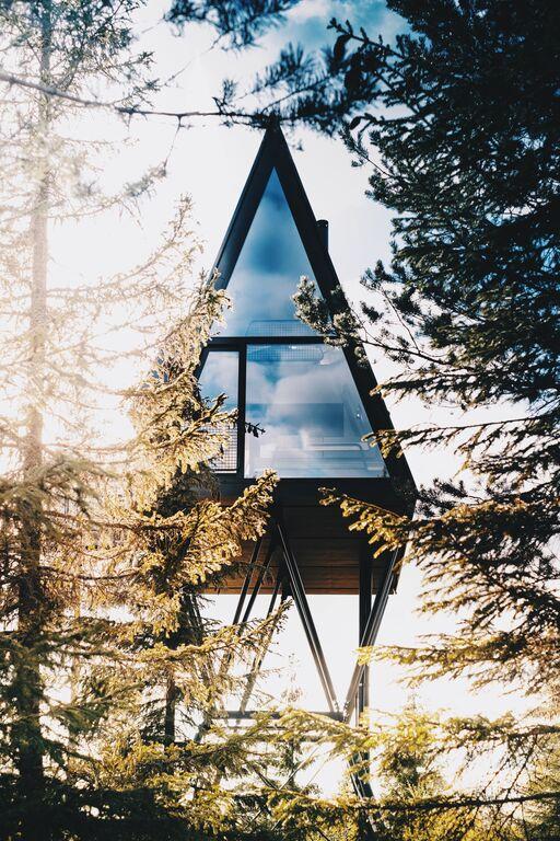 Skandinavien exklusiv: treetop cabin markus ek pan tretopphytter visitnorway com