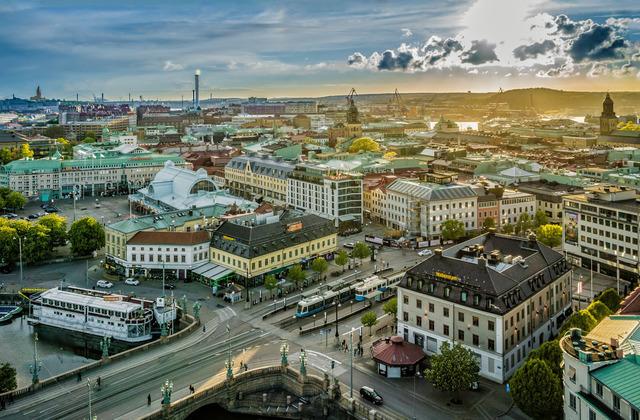 Städtereisen: skyline goeteborg per pixel petersson imagebank