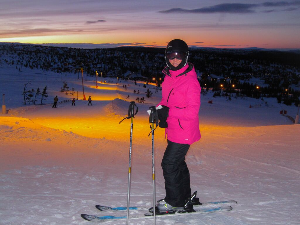 Winter: evening skiing trysil foap visitnorway com