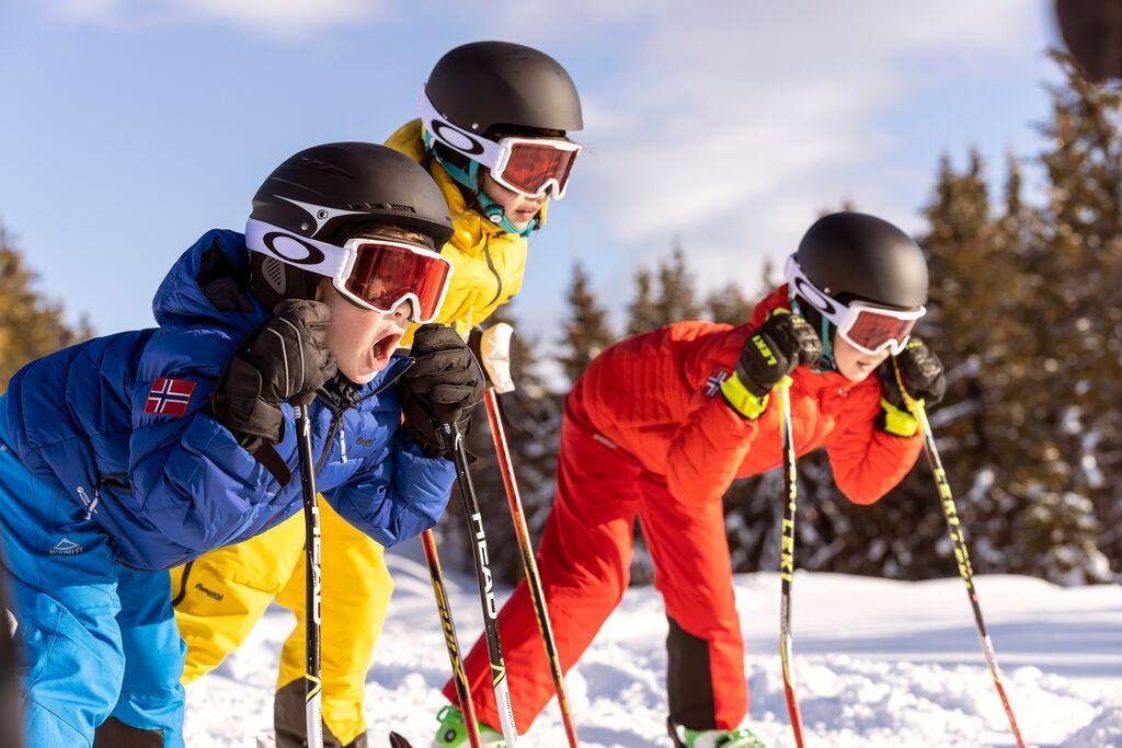 Winter: kids skiing fredrik myhre visitnorway com