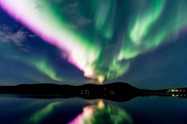 Weihnachten & Silvester: nordlicht finland markus kiili