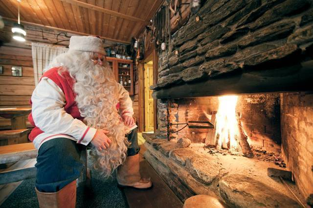 Winter: rovaniemi weihnachts riku pihlanto