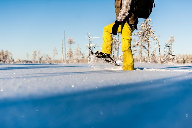 Winter: schneeschuh ted logart imagebank sweden se
