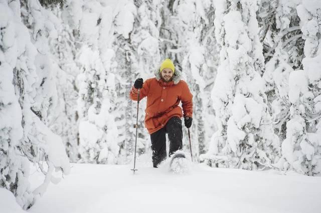 Winter: schneeschuhwanderung juho kuva  com