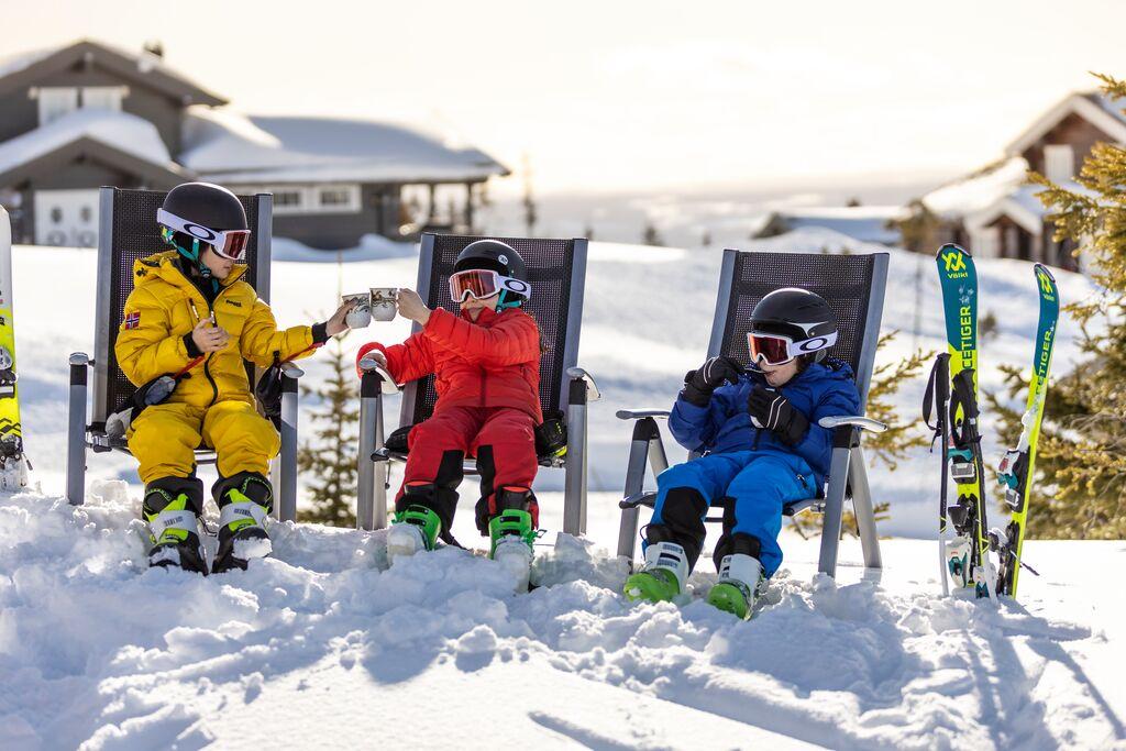 Winter: skiing relaxingc fredrik myhre visitnorway com