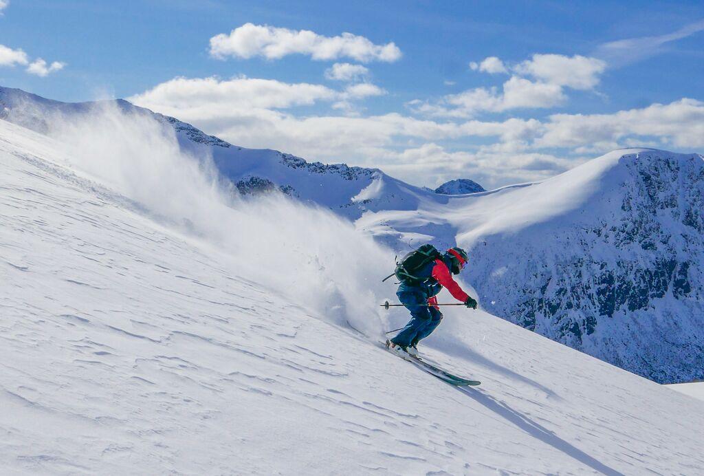 Winter: skiing vesteralen sophie stevens visitnorway com