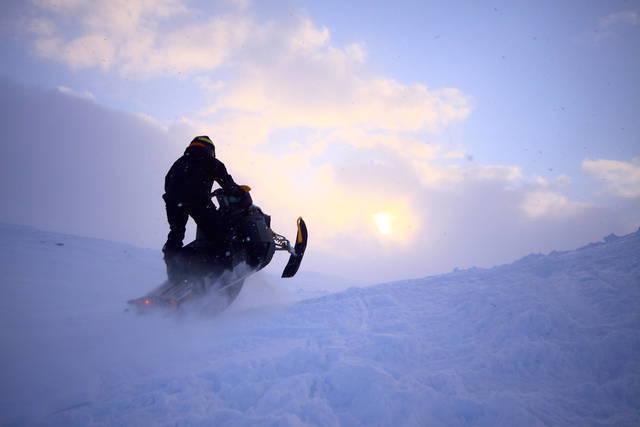 Winter: snowmobile antti pietikCAinen