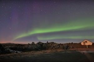 Winter: Northern Light  in Iceland