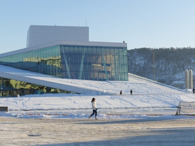 Winter: Oslo Opera Winter