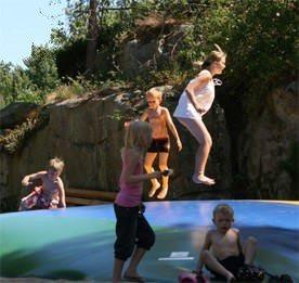 Familienreisen: Skottevik Spielplatz