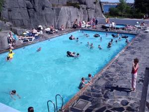 Familienreisen: Skottevik Swimmingpool
