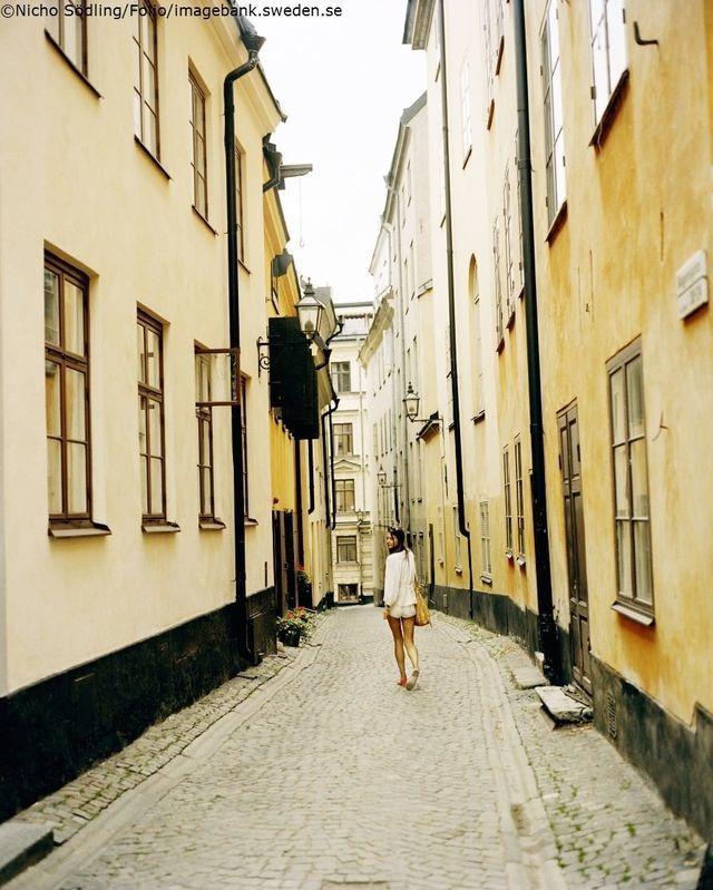 Sttereisen: Visit Sweden gamlastan