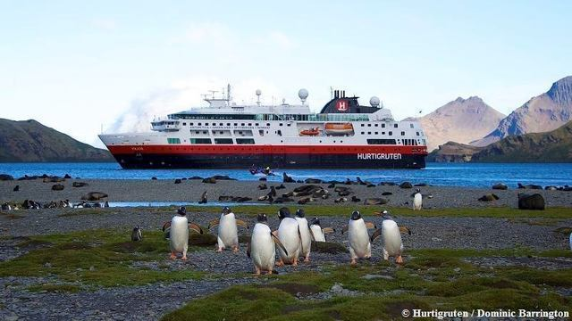 Hurtigruten: hr ms fram