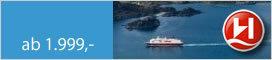 Hurtigruten Spezial-Angebot: Tromsø-Kirkenes-Bergen