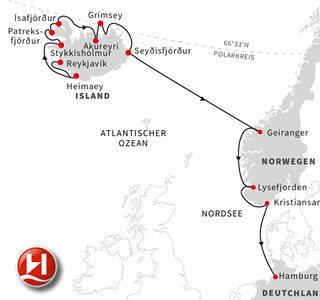 Expedition Island bis Hamburg 2020