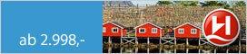 Hurtigruten Von Hamburg über Kirkenes nach Tromsø