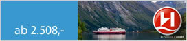 Hurtigruten  Facettenreiches Norwegen