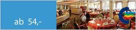 Kreuzfahrten Mini-Kreuzfahrt Kiel-Oslo-Kiel mit Schlemmerbuffet und Kinderermäßigung