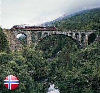 Reisespecial Sognefjord, Bergenbahn und Hurtigrute