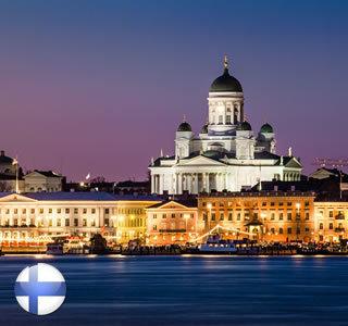 Helsinki und St. Petersburg
