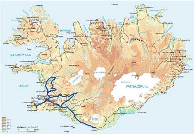 Sttereisen: troll standortreise karte